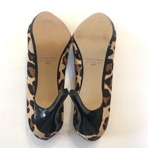 Max Studio Shoes - Max Studio Leopard Heels